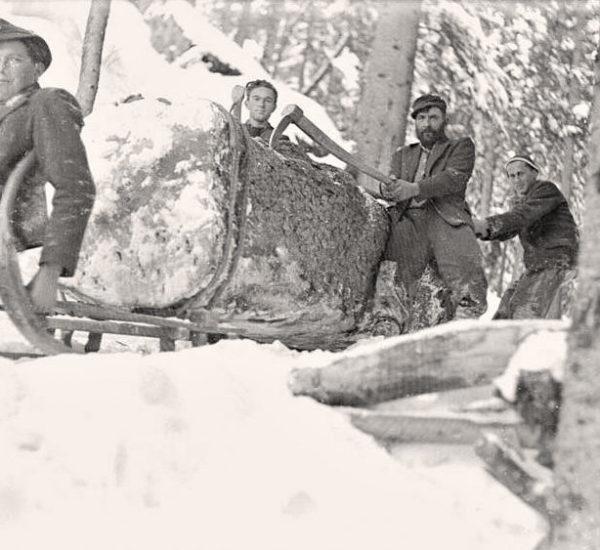 Altes Handwerk der Bergbauern